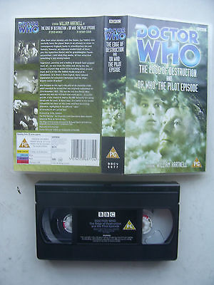 Doctor Who Edge of Destruction Plus  Pilot Episode William Hartnell