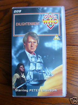 Doctor Who Enlightenment.....RARE.....