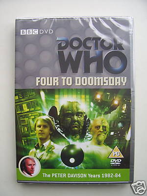 Doctor Who Four to Doomsday   DVD  SEALED
