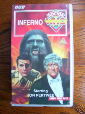 Doctor Who  Inferno .....RARE.....