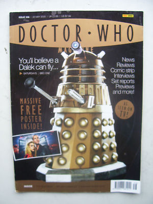 Doctor Who Magazine issue 356 You'll Believe a Dalek can Fly! Rare
