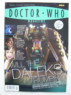 Doctor Who Magazine Issue 358 Will the Daleks Triumph? Rare