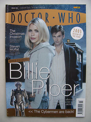 Doctor Who Magazine Issue 364 Billie Piper Rare