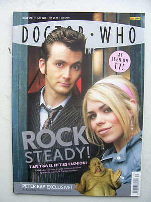 Doctor Who Magazine Issue 371 Rock Steady! Rare