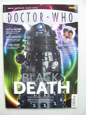 Doctor Who Magazine issue 372 Black Death