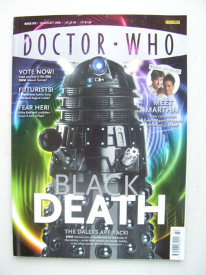 Doctor Who Magazine issue 372 Rare