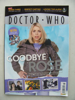 Doctor Who Magazine issue 376 Rare
