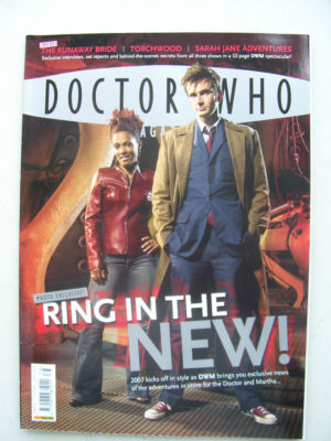 Doctor Who Magazine issue 378 Rare