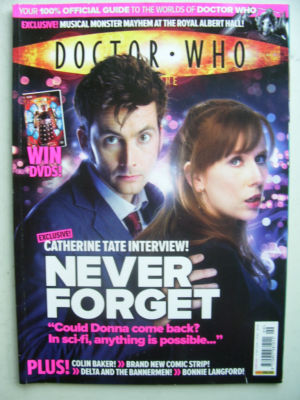 Doctor Who Magazine issue 399  Rare