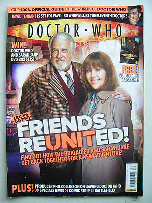 Doctor Who Magazine issue 402 Friends Reunited
