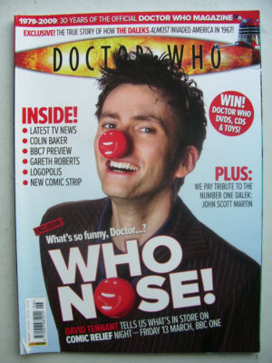 Doctor Who Magazine issue 406  Rare