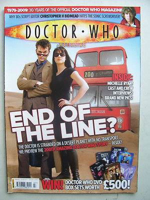 Doctor Who Magazine issue 407 End of the Line Rare
