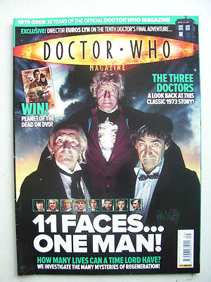 Doctor Who Magazine issue 409   11 Faces One Man