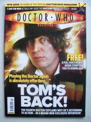 Doctor Who Magazine issue 411 Rare