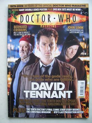 Doctor Who Magazine issue 416 Rare