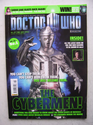 Doctor Who Magazine issue 426 Rare