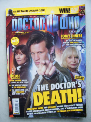 Doctor Who Magazine issue 427 Rare