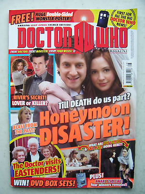 Doctor Who Magazine issue 428 Honeymoon Disaster!