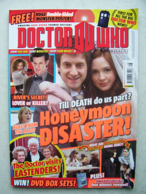 Doctor Who Magazine issue 428 Rare