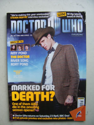 Doctor Who Magazine issue 433 Rare
