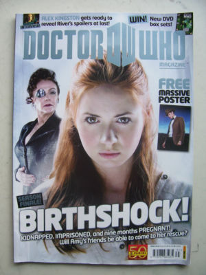 Doctor Who Magazine issue 435 Rare
