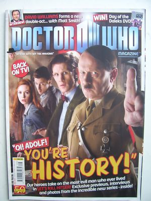 Doctor Who Magazine issue 438 Rare