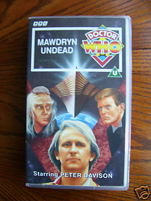 Doctor Who Mawdryn Undead ..RARE