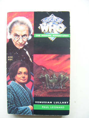 Doctor Who Missing Adventures Venusian Lullaby RARE