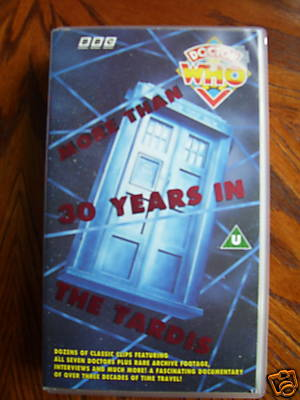 Doctor Who More than 30 Years in the TARDIS