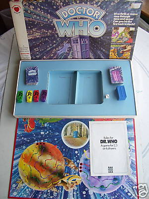 Doctor Who Planets of Monsters  Game RARE