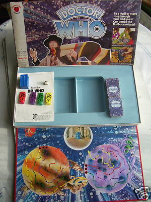 Doctor Who Planets of Monsters  Game ( Very Rare )