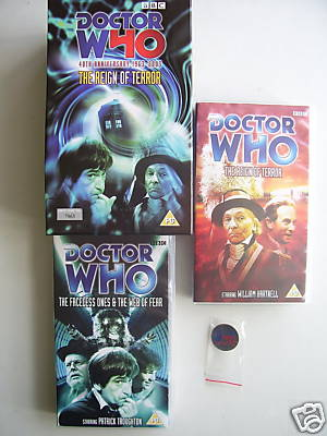 Doctor Who Reign of Terror & Web of Fear Box Set  7684