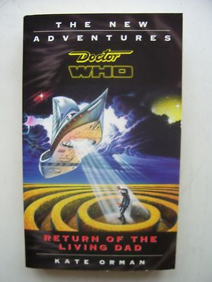 Doctor Who Return of the Living Dad The New Adventures  Virgin Books Very Rare