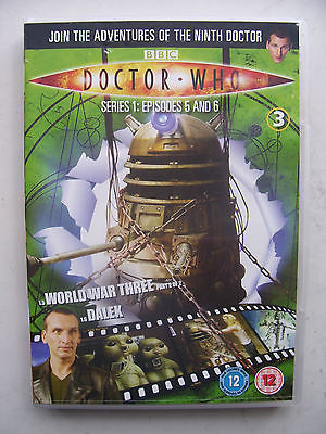 Doctor Who Series 1 Episodes 5 & 6  DVD  Christopher Eccleston