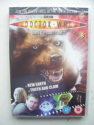 Doctor Who Series 2 Episodes 1 & 2  DVD David Tennant SEALED