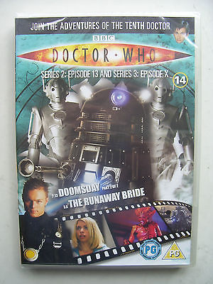 Doctor Who Series 2 Episodes 13 & Series 3 Episode X  DVD David Tennant SEALED