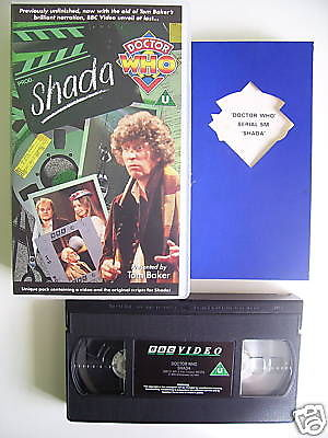 Doctor Who Shada  VHS (With Script Book)