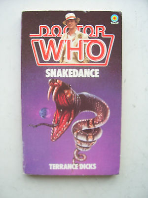 Doctor Who Snakedance Target Book No 83.. 1st Edition