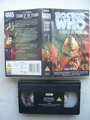 Doctor Who Terror of the Zygons. Rare Unedited Edition
