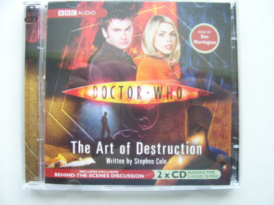 Doctor Who The Art of Destruction  Audio CD