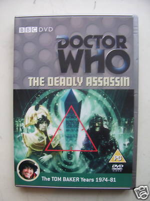 Doctor Who The Deadly Assassin  DVD