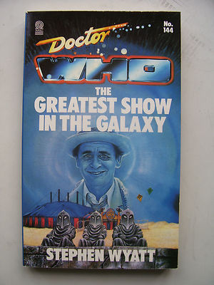 Doctor Who The Greatest Show in the Galaxy Target Book Very Rare