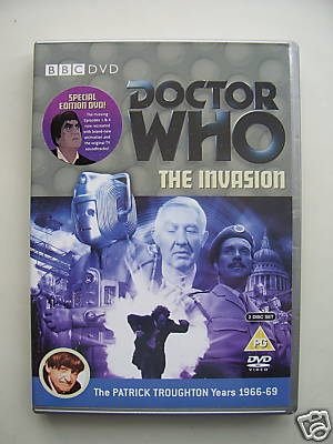 Doctor Who The Invasion   Double DVD