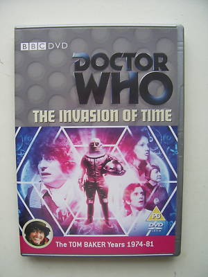 Doctor Who The Invasion of Time   DVD