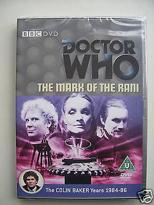 Doctor  Who The Mark of the Rani  DVD   NEW