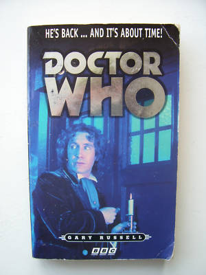 Doctor Who The Movie RARE BBC Book