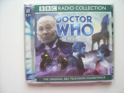 Doctor Who The Myth Makers  CD Audio William Hartnell