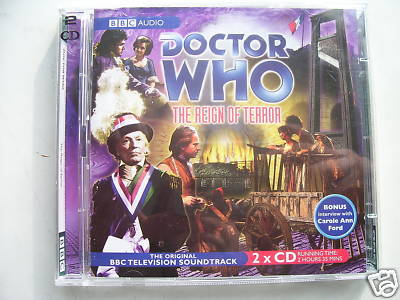 Doctor Who The Reign of Terror CD Audio Soundtrack