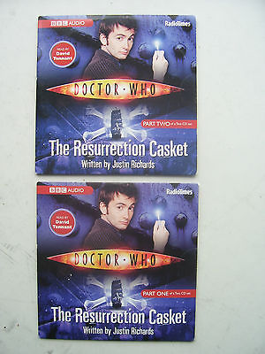 Doctor Who  The Resurrection Casket CD Audio Soundtrack NEW