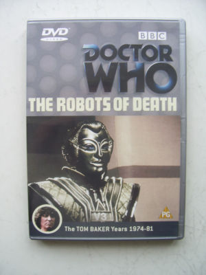 Doctor Who  The Robots of Death  DVD